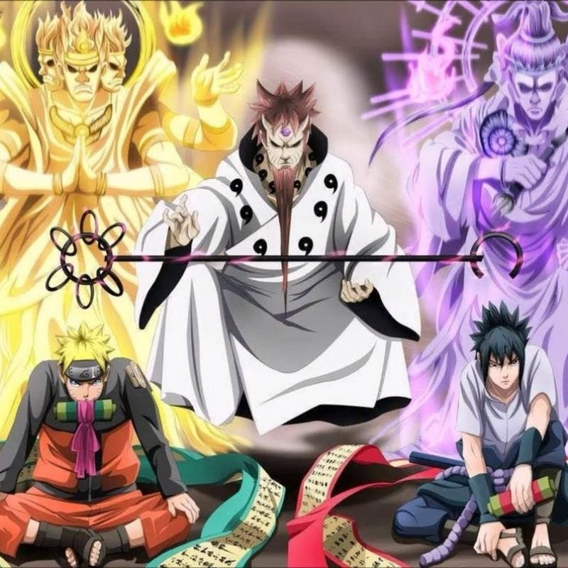 10 Best Naruto And Sasuke Sage Of Six Paths Wallpaper FULL HD 1920×1080 For PC Desktop 2021 free download sasuke and naruto with hogoromo the sage of the six paths nerd 800x800