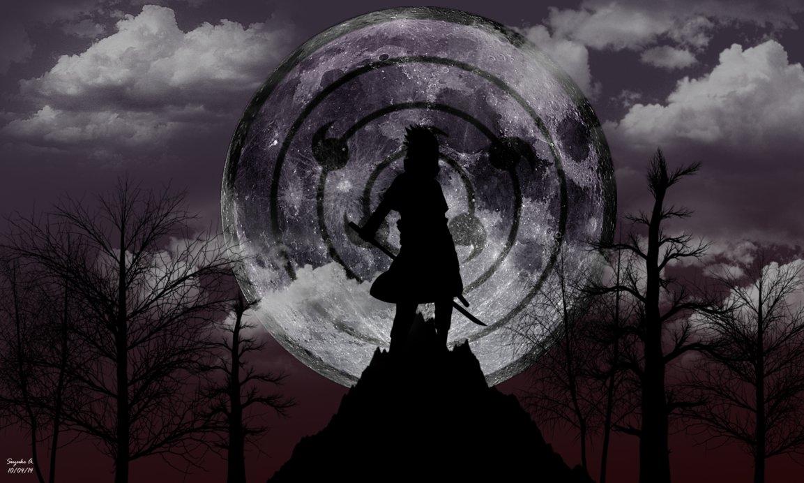 sasuke uchiha rinnegan [moon eye] wallpapersuzukeamaterasu on
