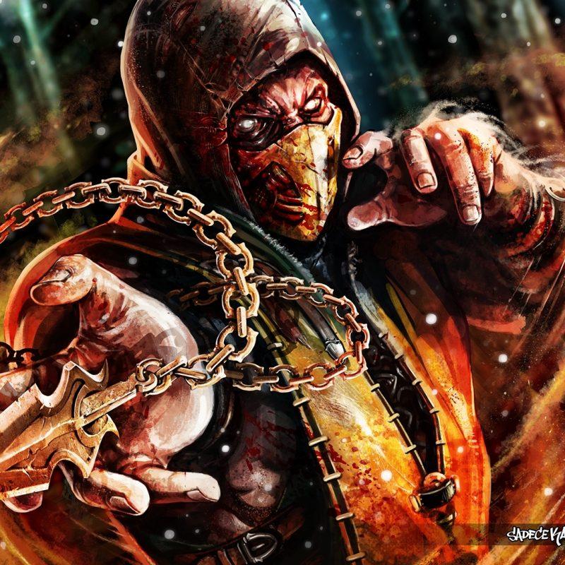 10 Best Scorpion Mortal Kombat Wallpapers FULL HD 1080p For PC Desktop 2018 free download scorpion mortal kombat x full hd fond decran and arriere plan 800x800