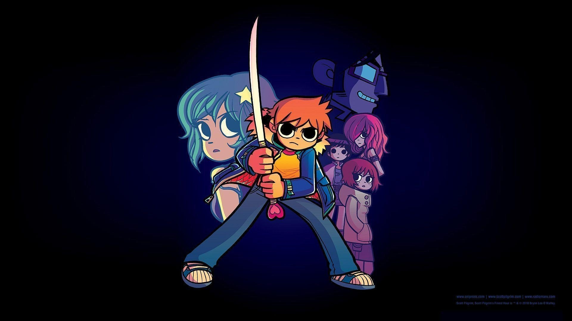 10 Best Scott Pilgrim Desktop Wallpaper FULL HD 1920×1080 For PC Desktop