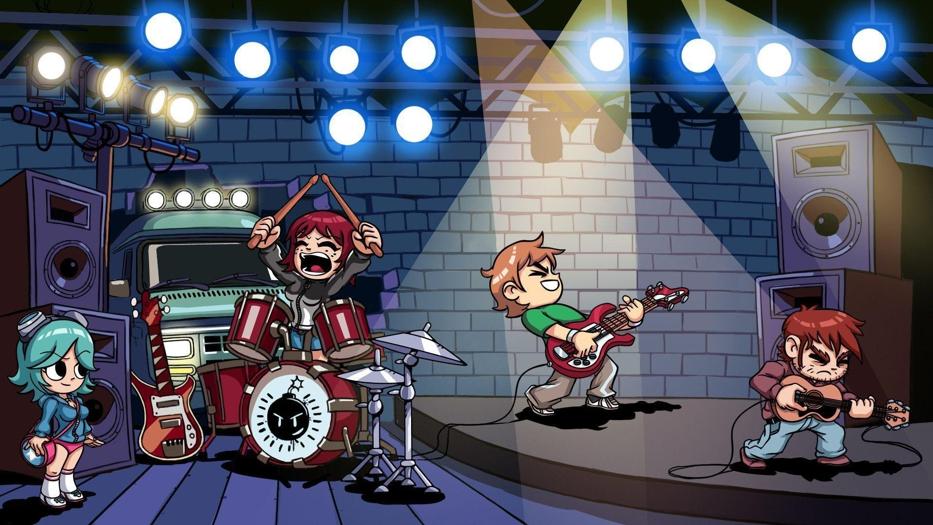 scott pilgrim backgrounds - wallpaper cave