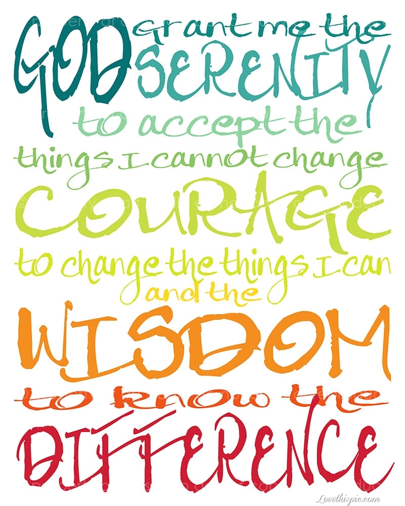 serenity prayer pictures, photos, and images for facebook, tumblr