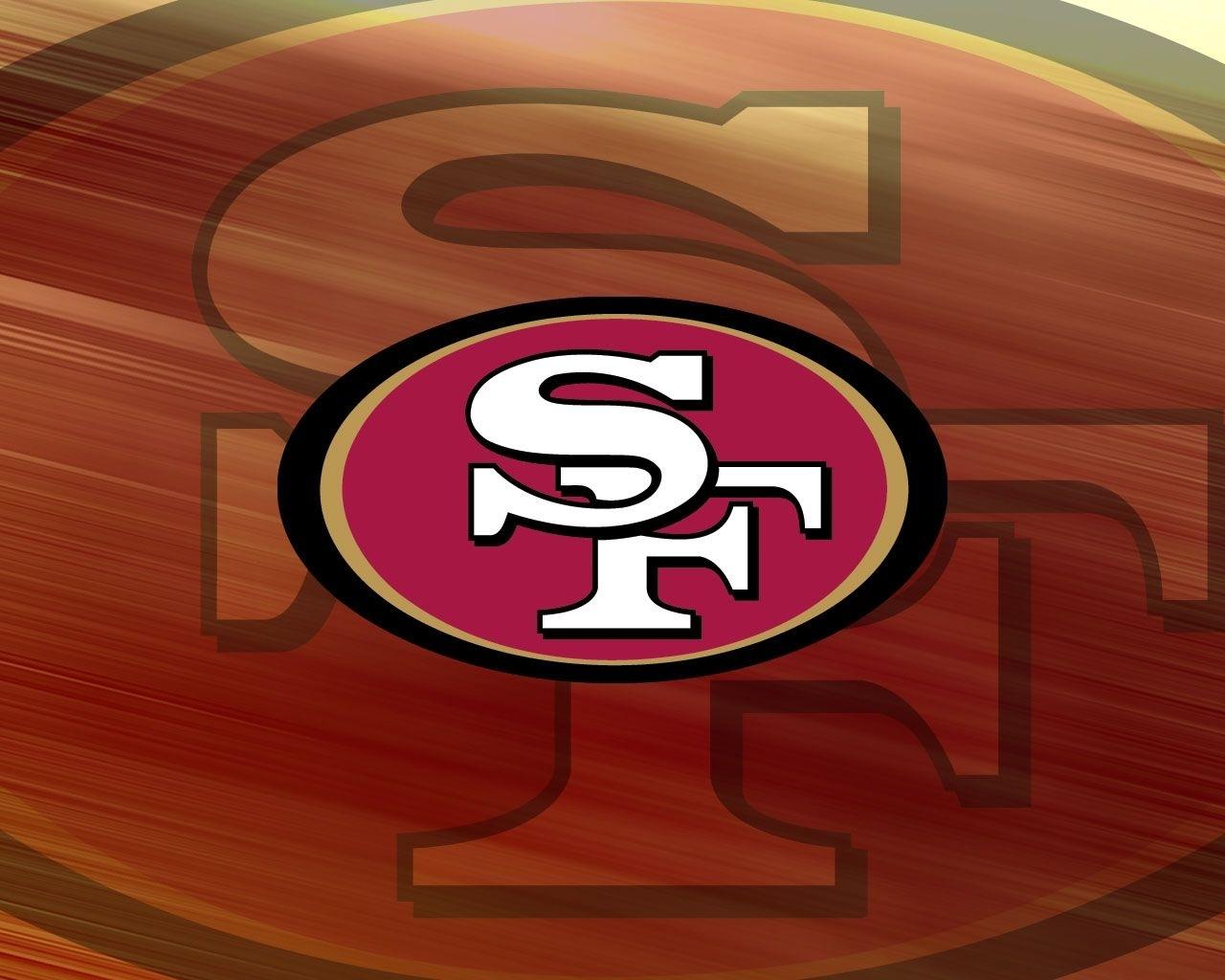 sf 49ers logo | san francisco 49ers team logo wallpaper 1280×1024
