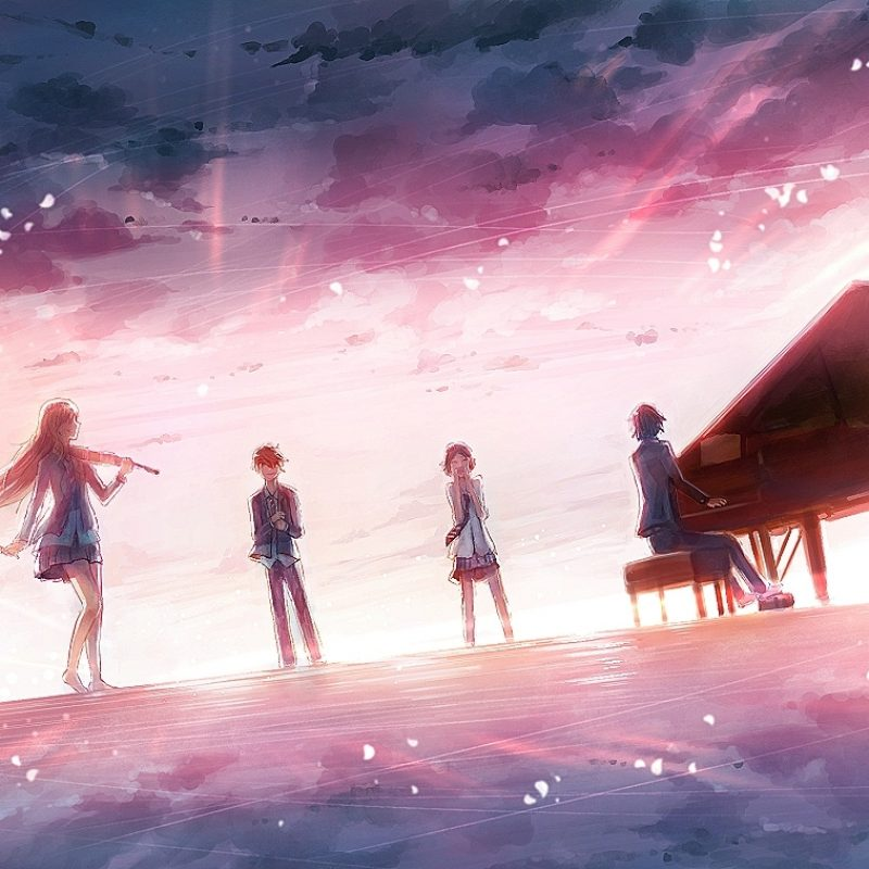 10 Best Your Lie In April Desktop Wallpaper FULL HD 1080p For PC Desktop 2018 free download shigatsu wa kimi no uso your lie in april image 1882830 800x800