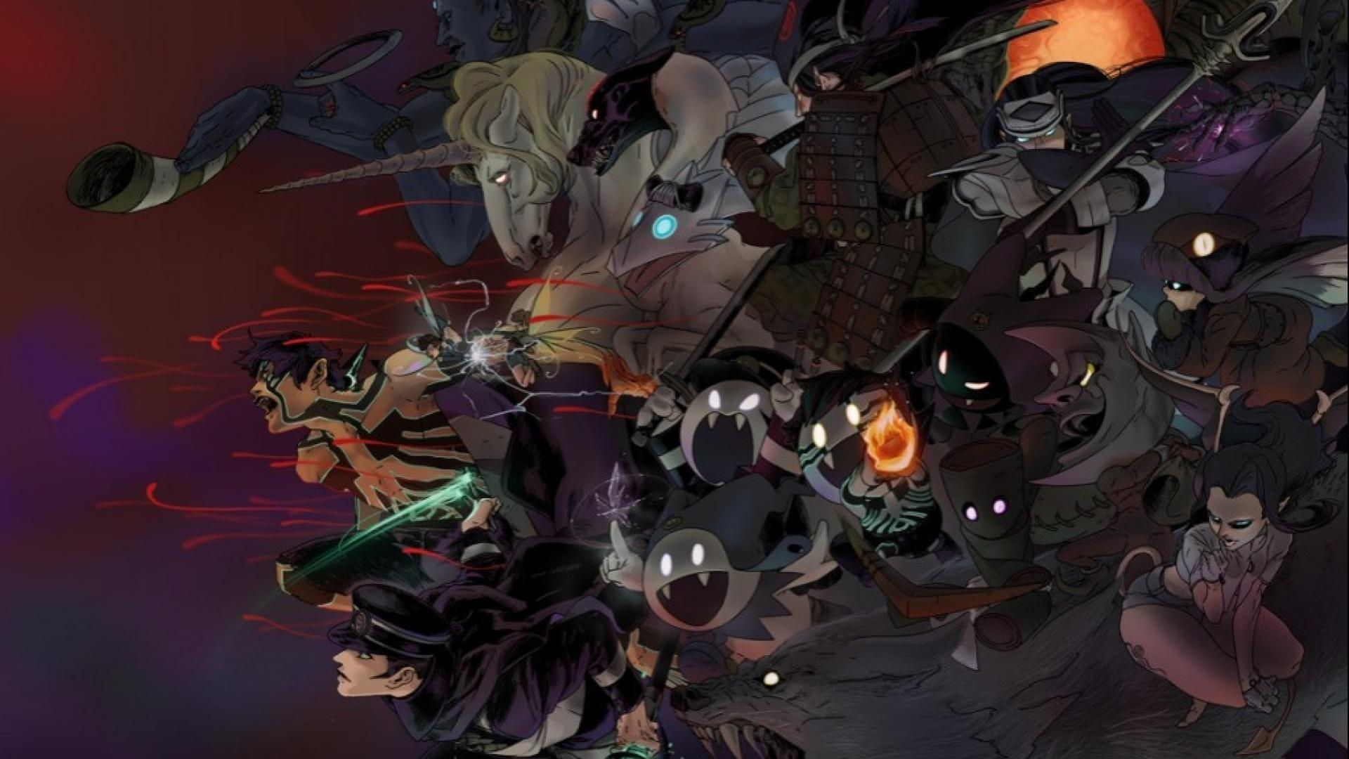 shin megami tensei iii tensei: nocturne demi-fiend wallpaper | (112192)