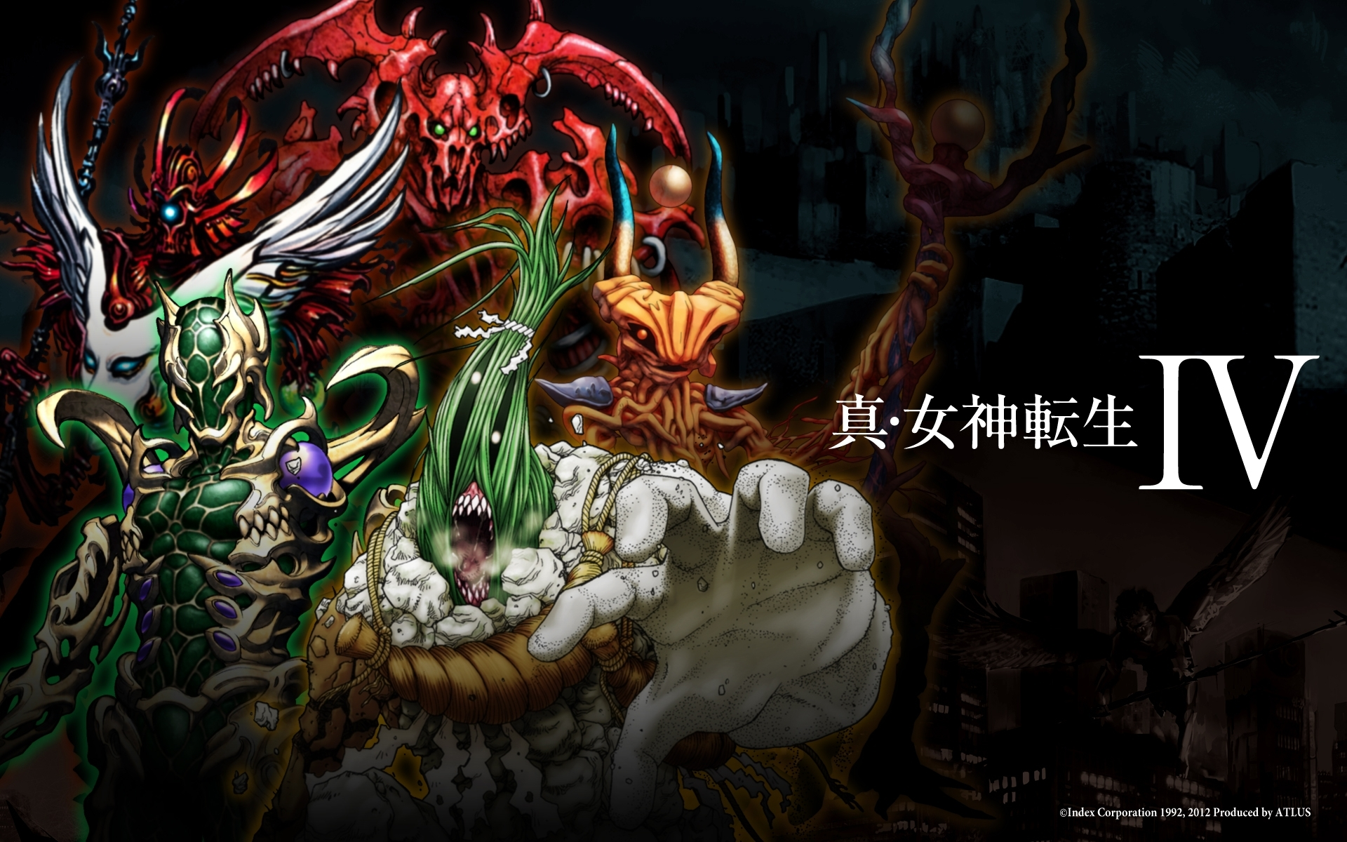 shin megami tensei iv images shin megami tensei iv wallpaper 02
