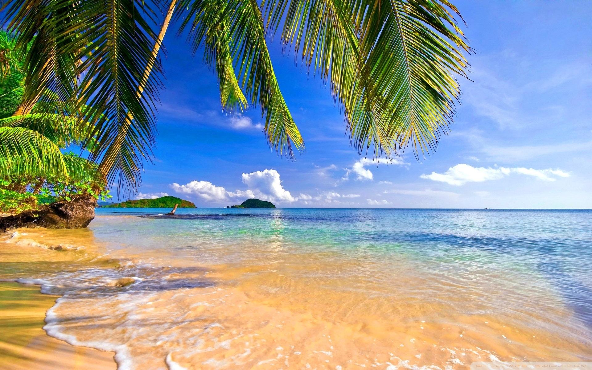 Tropical Island Desktop Wallpapers background