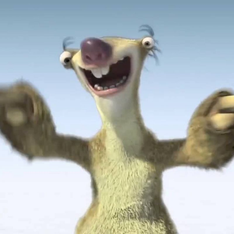 10 Top Images Of Sid The Sloth FULL HD 1080p For PC Background 2021 free download sid the sloth doing the reviva dance youtube 800x800