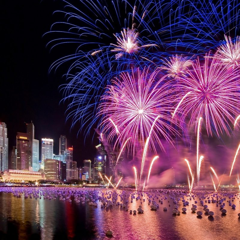 10 Best New Years Eve Wallpaper FULL HD 1920×1080 For PC Desktop 2018 free download singapore new years eve holiday fireworks city at night hd wallpaper 1 800x800
