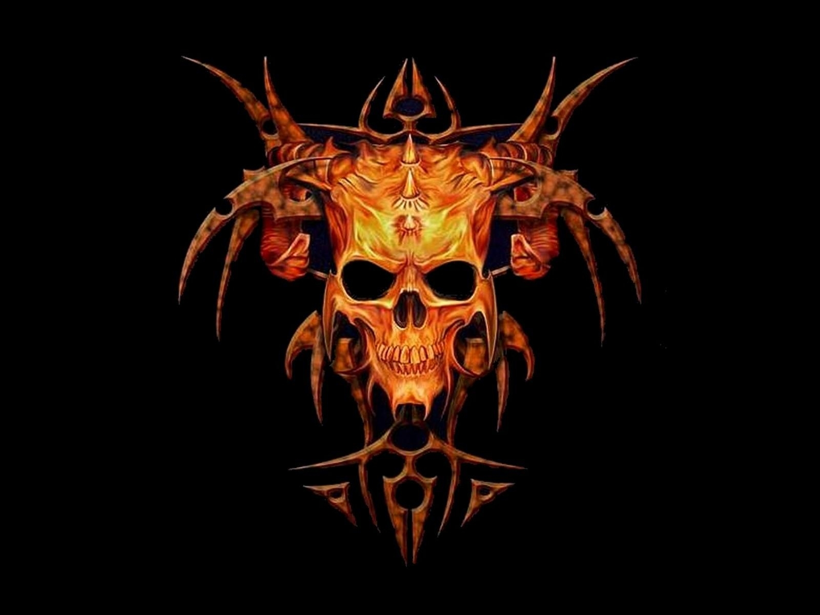 10 New Danger Skull Wallpapers Free Download FULL HD 1920 ...