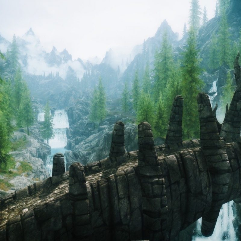 10 New Skyrim Landscape Wallpaper Hd FULL HD 1920×1080 For PC Desktop 2018 free download skyrim computer backgrounds group 1920x1080 skyrim wallpapers 44 800x800