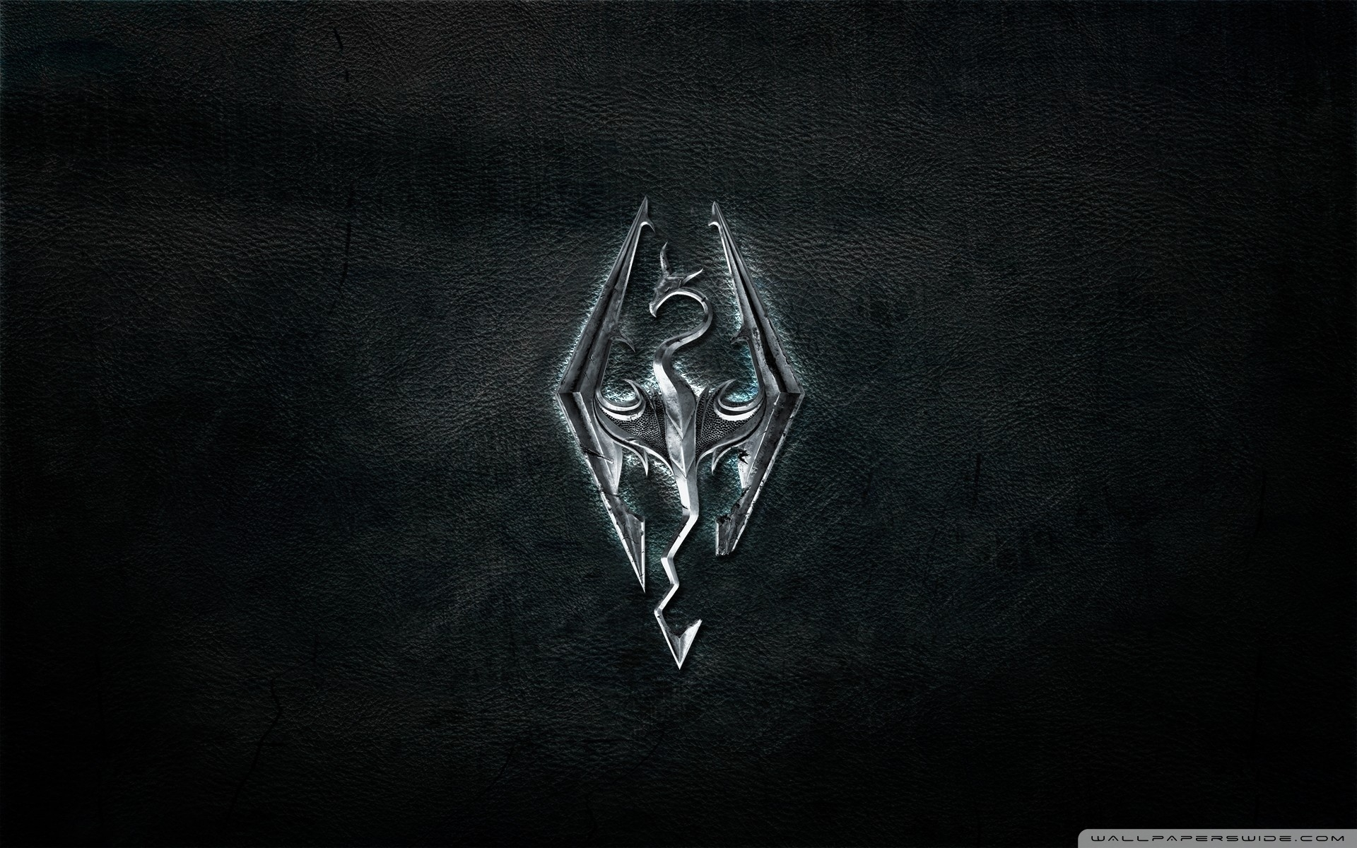 skyrim logo ❤ 4k hd desktop wallpaper for 4k ultra hd tv • tablet