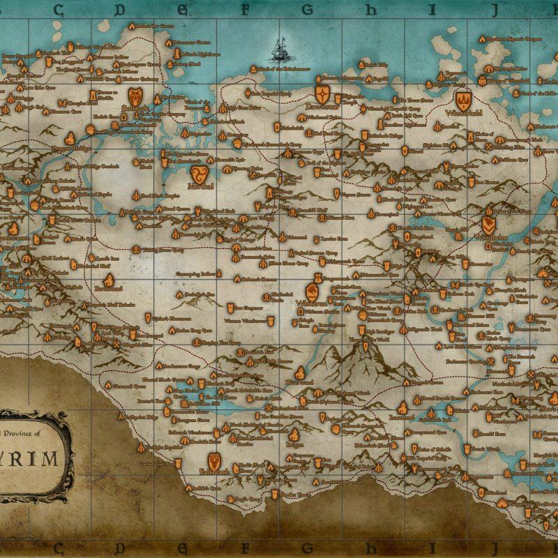 10 New Map Of Skyrim Wallpaper FULL HD 1920×1080 For PC Desktop 2020 free download skyrim map wallpaper 1900x1080 skyrim 800x800
