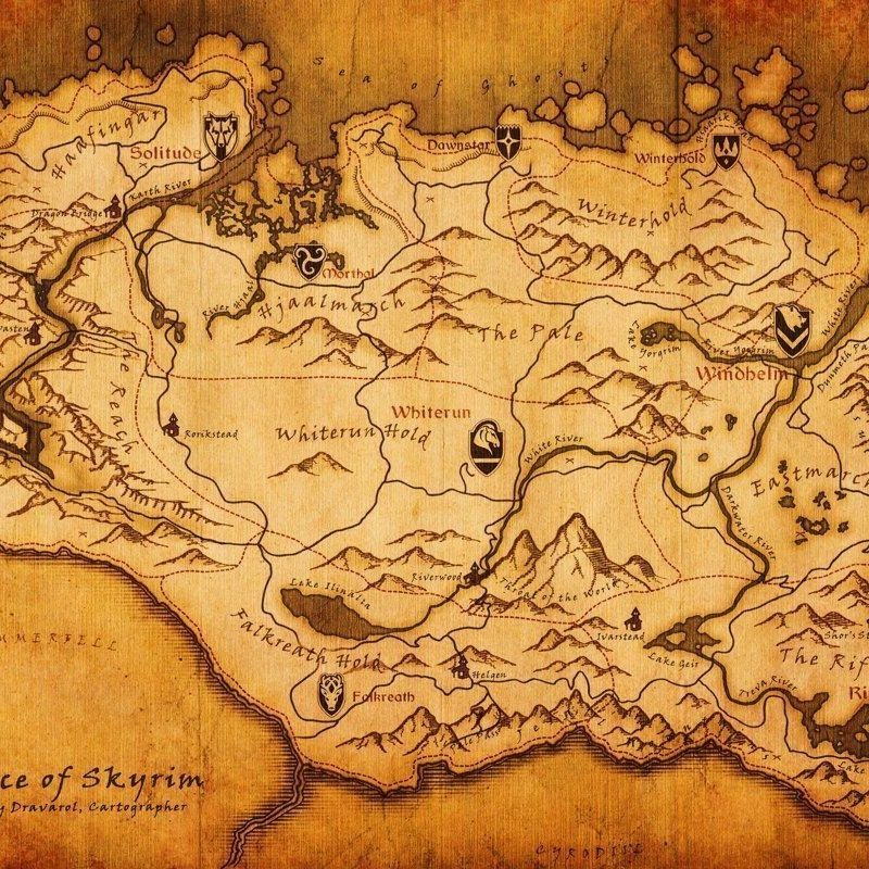 10 Best Elder Scrolls Map Wallpaper FULL HD 1080p For PC Background 2020 free download skyrim map wallpapers wallpaper cave 1 800x800