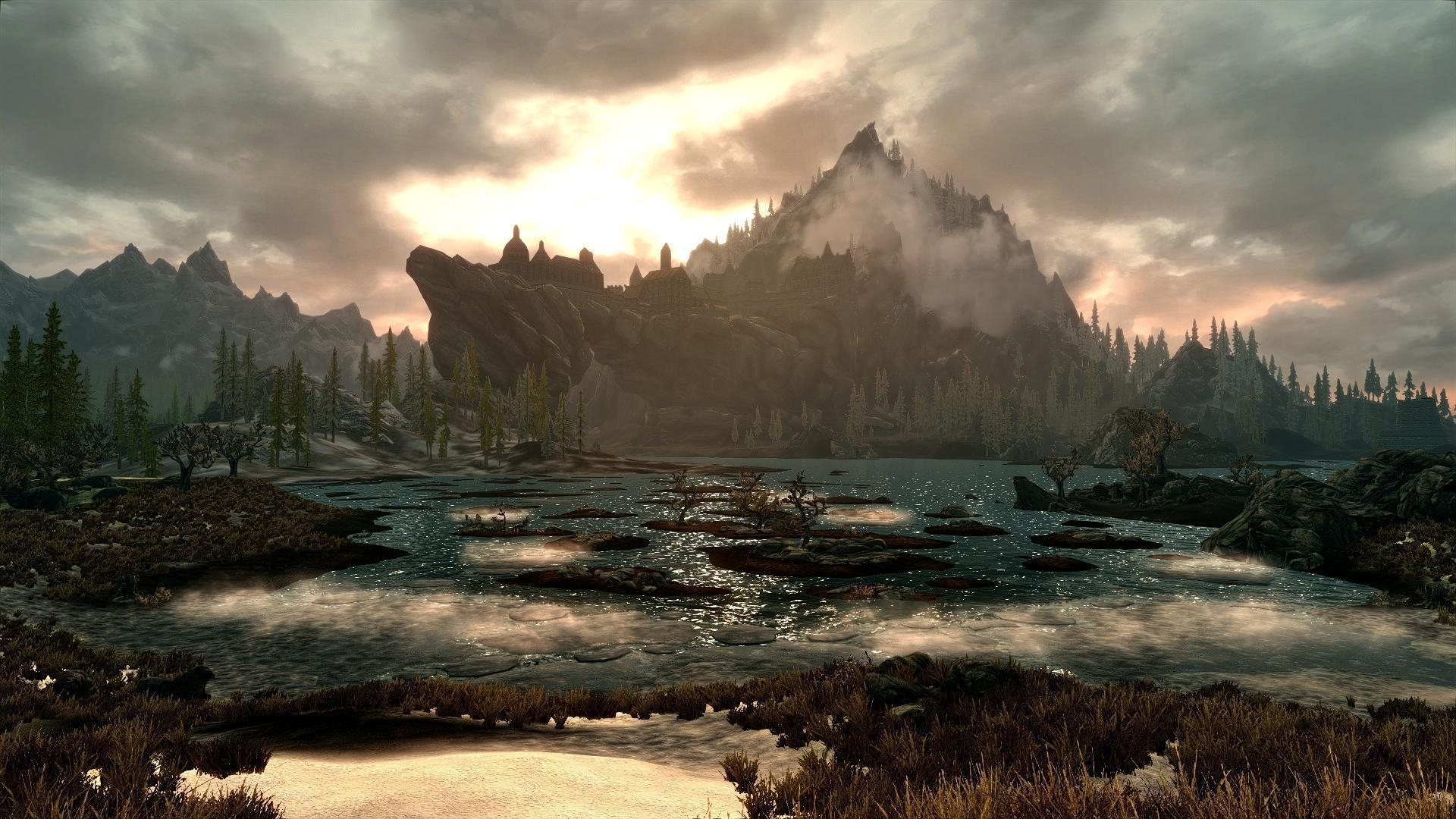 skyrim scenery wallpapers - wallpaper cave