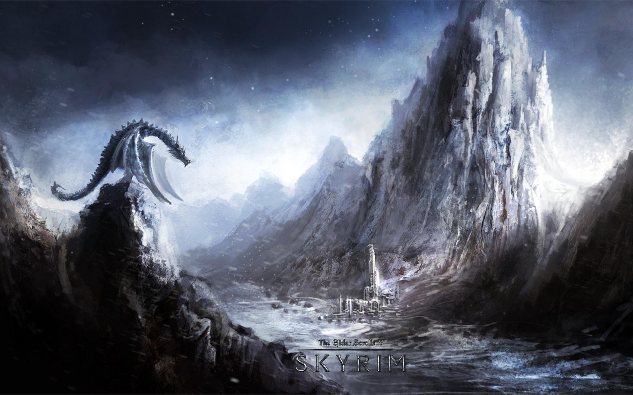 skyrim wallpaper image - minimongo - mod db