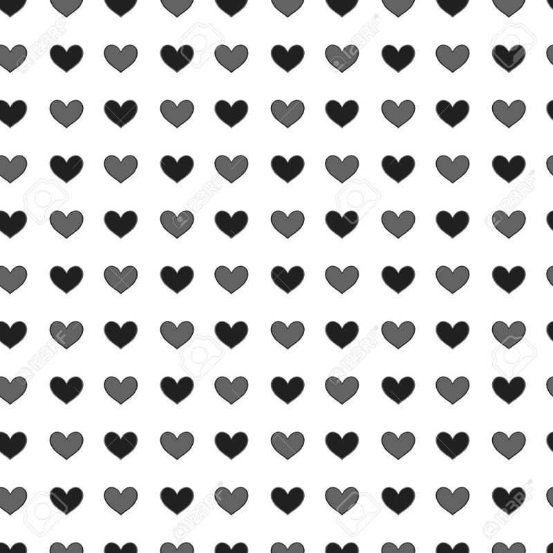 10 Most Popular Heart Background Black And White FULL HD 1080p For PC Background 2021 free download small st valentine hearts simply seamless vector background 800x800