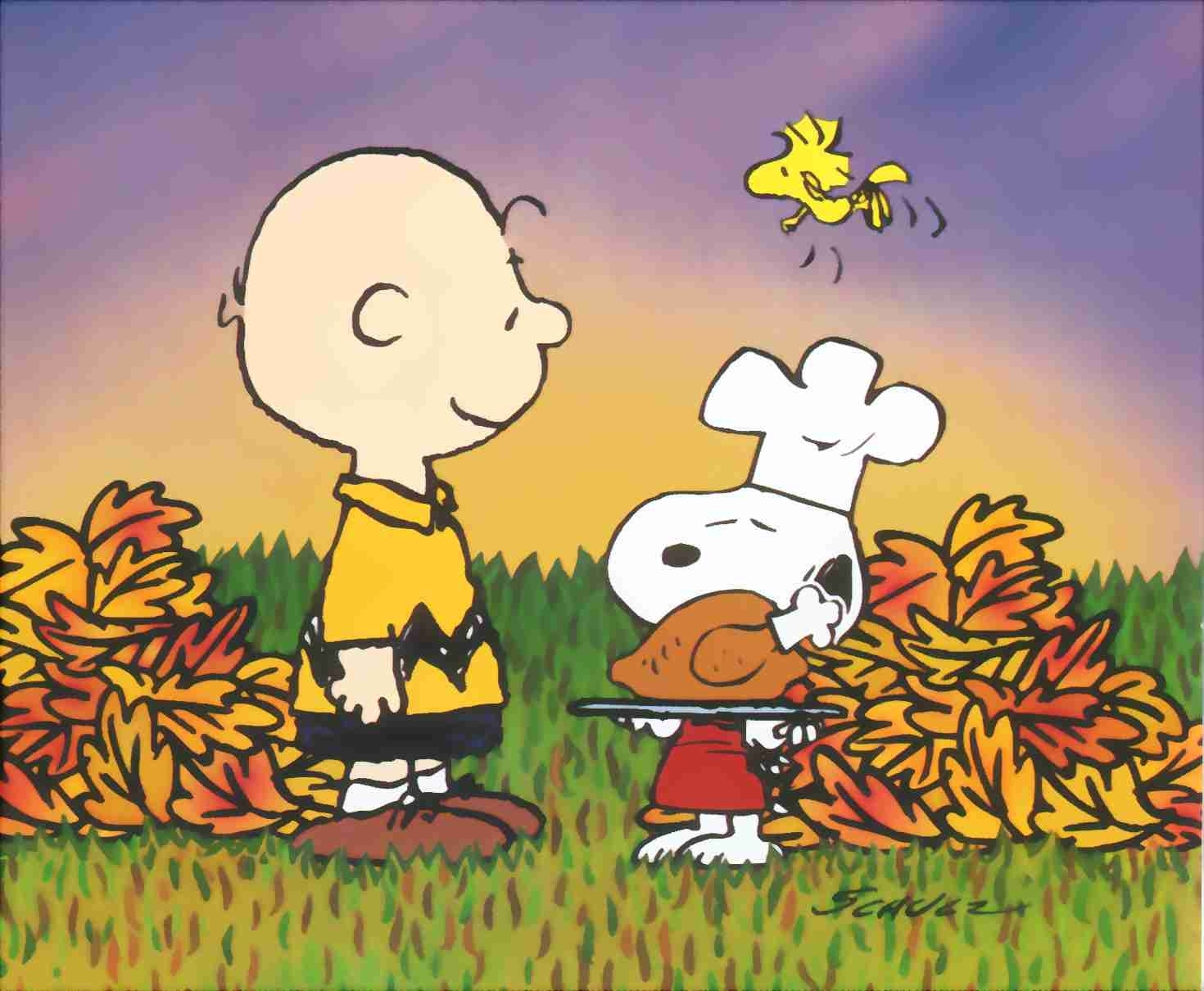 snoopy charlie brown thanksgiving - thanksgiving wallpaper