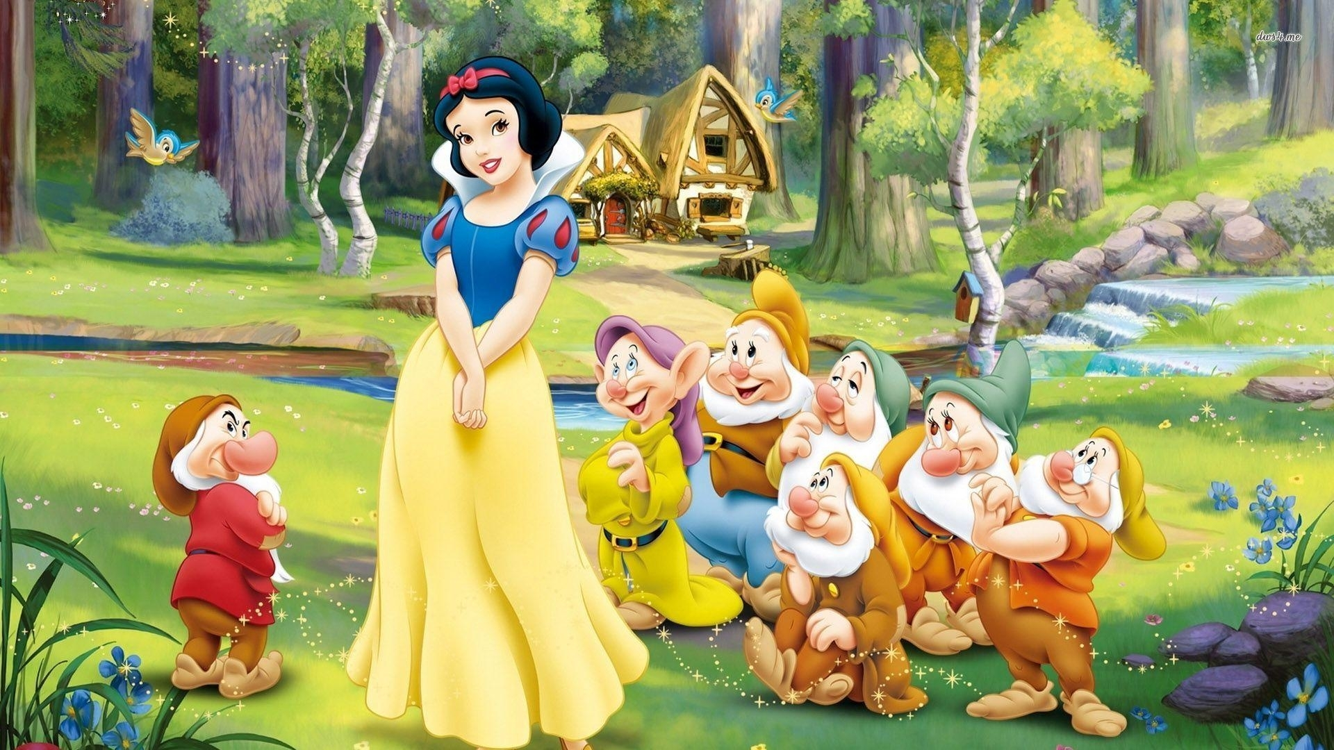 snow white and the seven dwarfs wallpapers - wallpaper cave