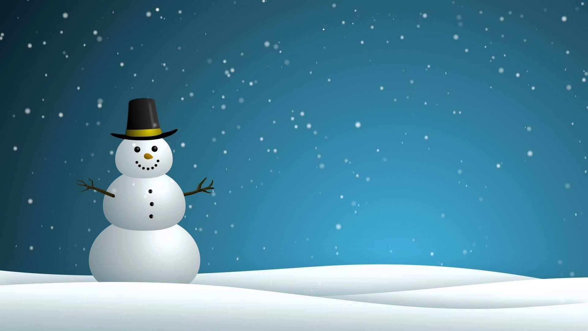 snowman - hd background loop - youtube