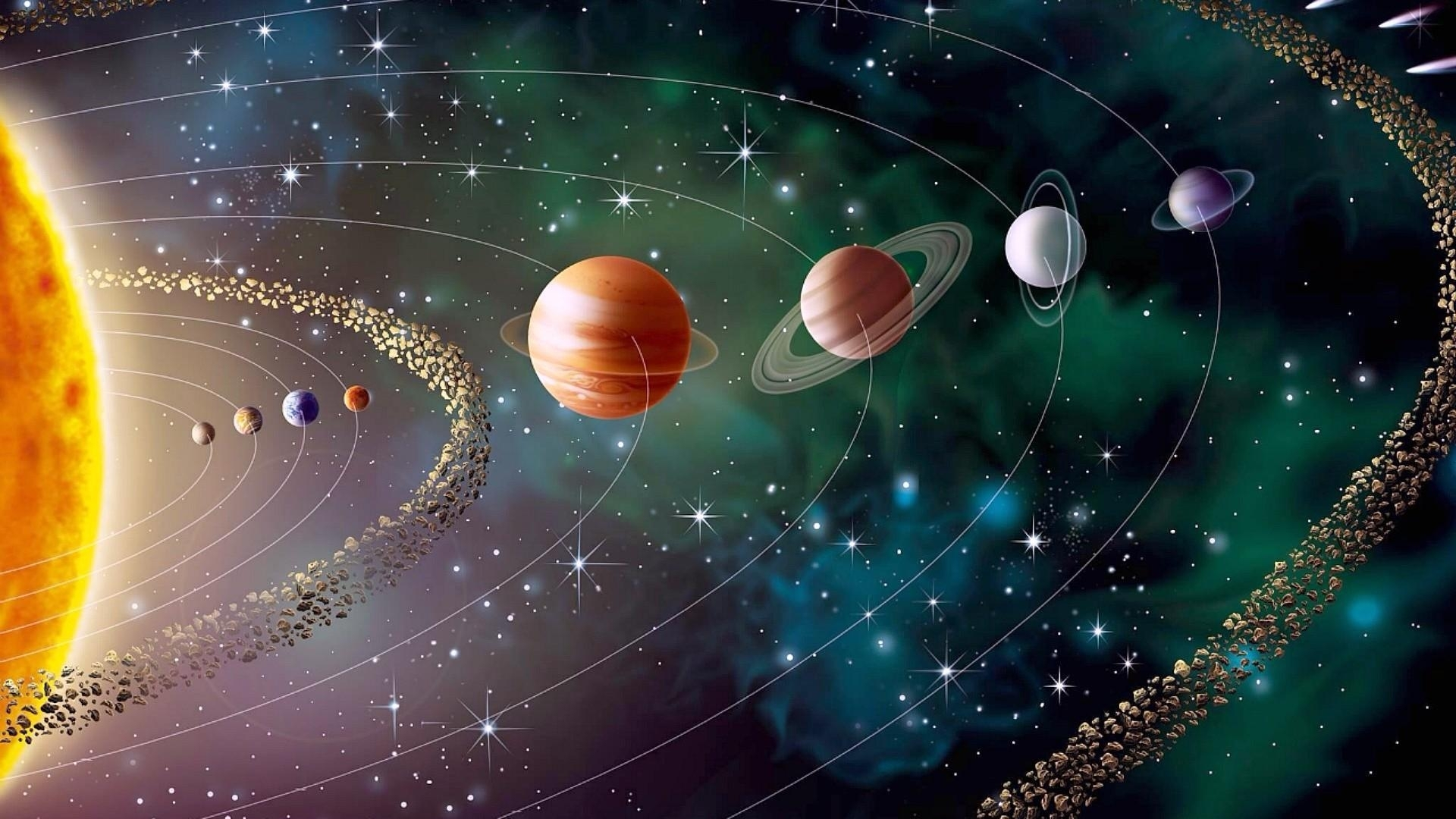 solar system wallpaper | wallpaper studio 10 | tens of thousands hd