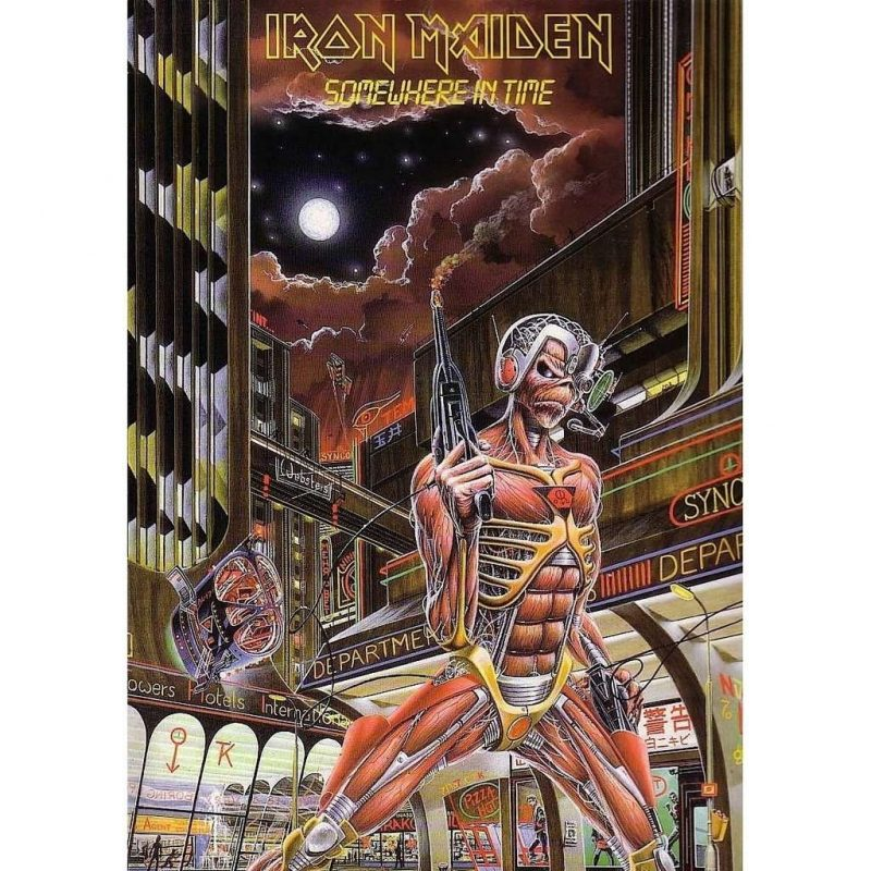 10 New Iron Maiden Somewhere In Time Wallpaper FULL HD 1080p For PC Desktop 2018 free download somewhere in timeiron maiden lp with londonbus ref115898668 800x800