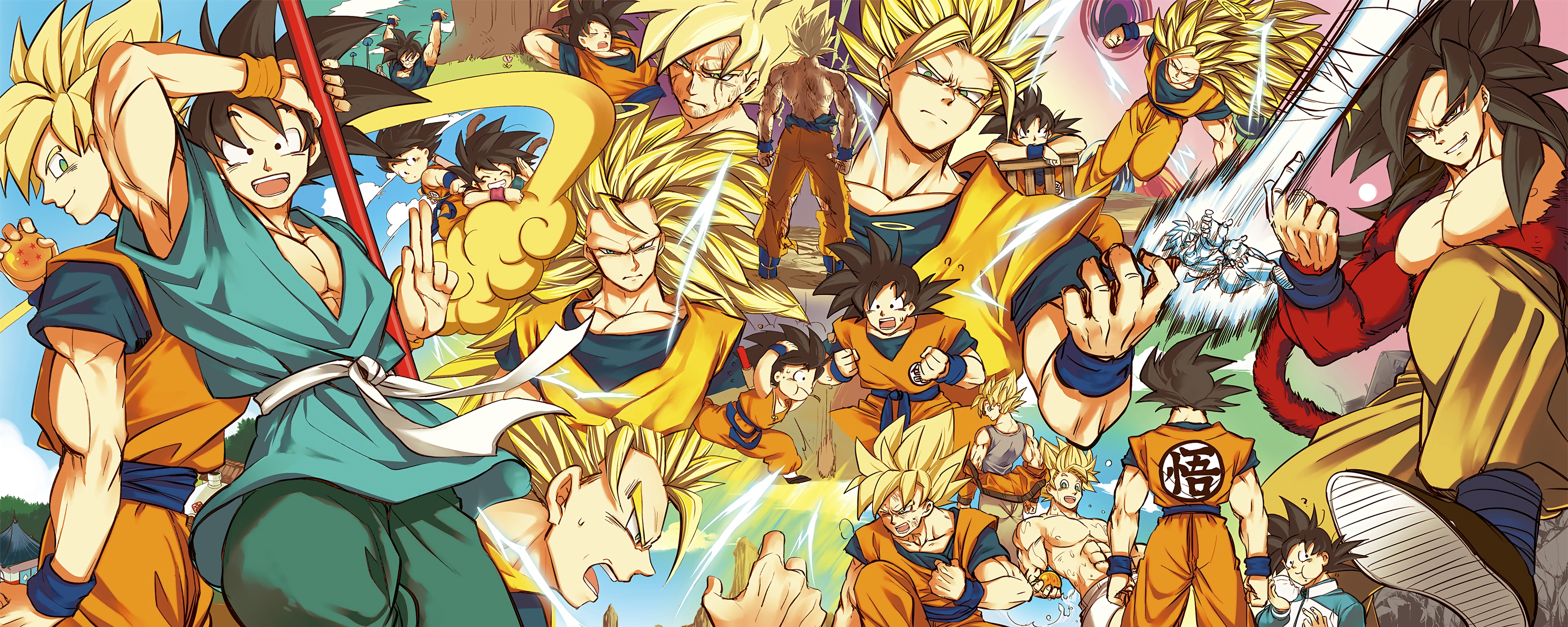 Dbz Dual Screen Wallpapers: 10 Best Dbz Dual Monitor Wallpaper FULL HD 1920×1080 For