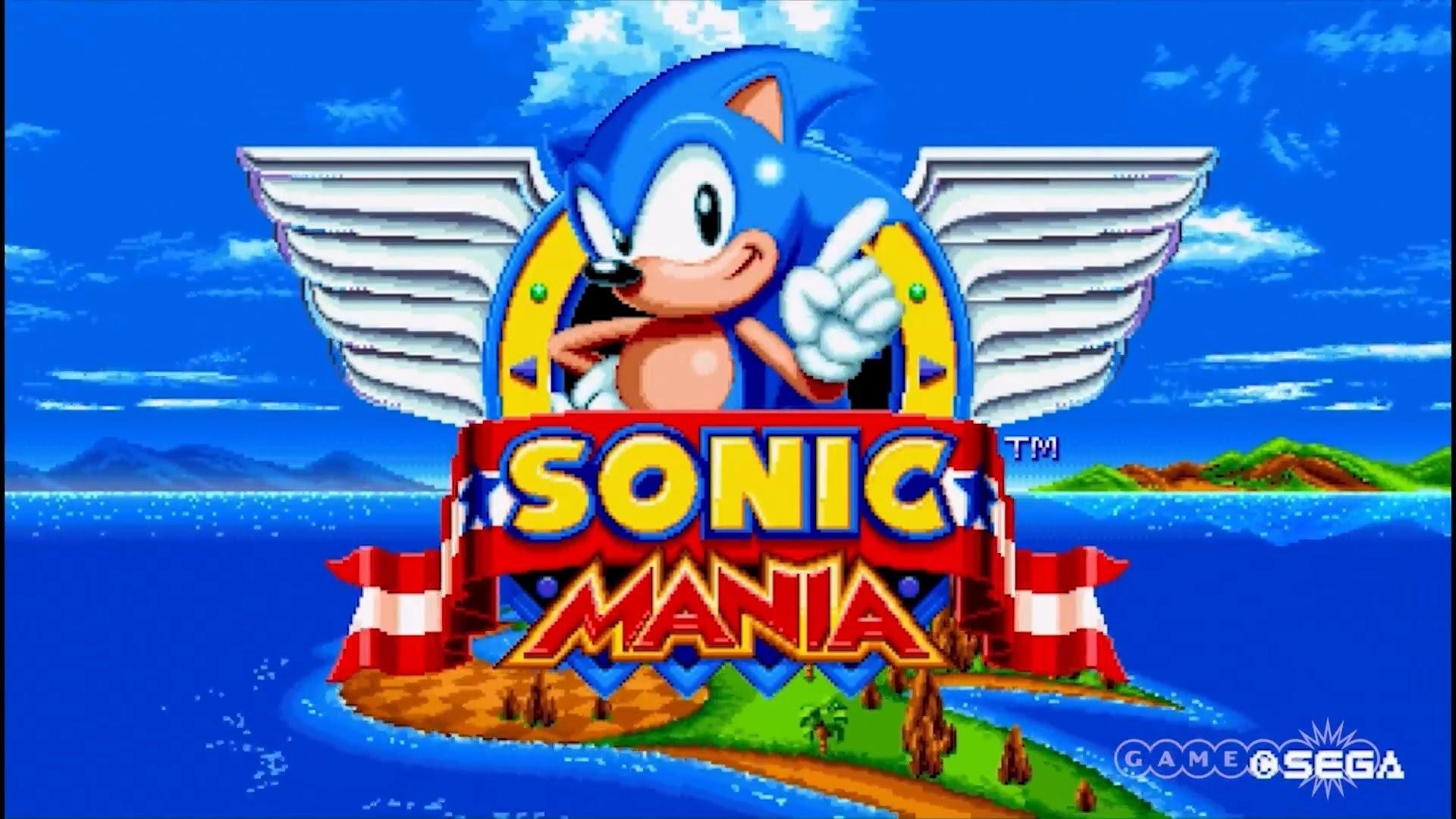 sonic mania - demo gameplay - youtube