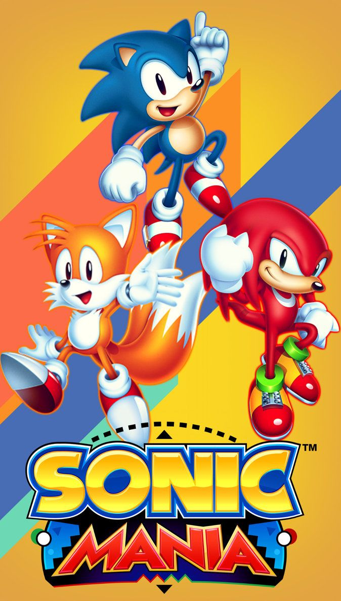 sonic mania iphone wallpaper