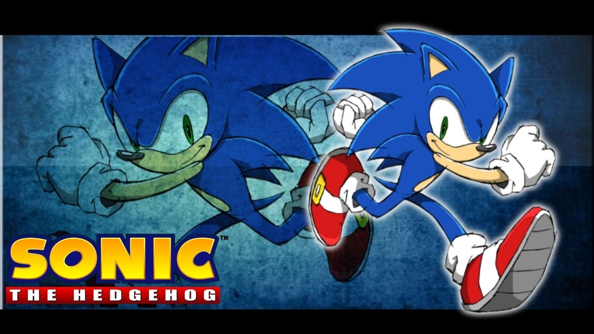 sonic the hedgehog wallpaper 2bluespeed360 on deviantart