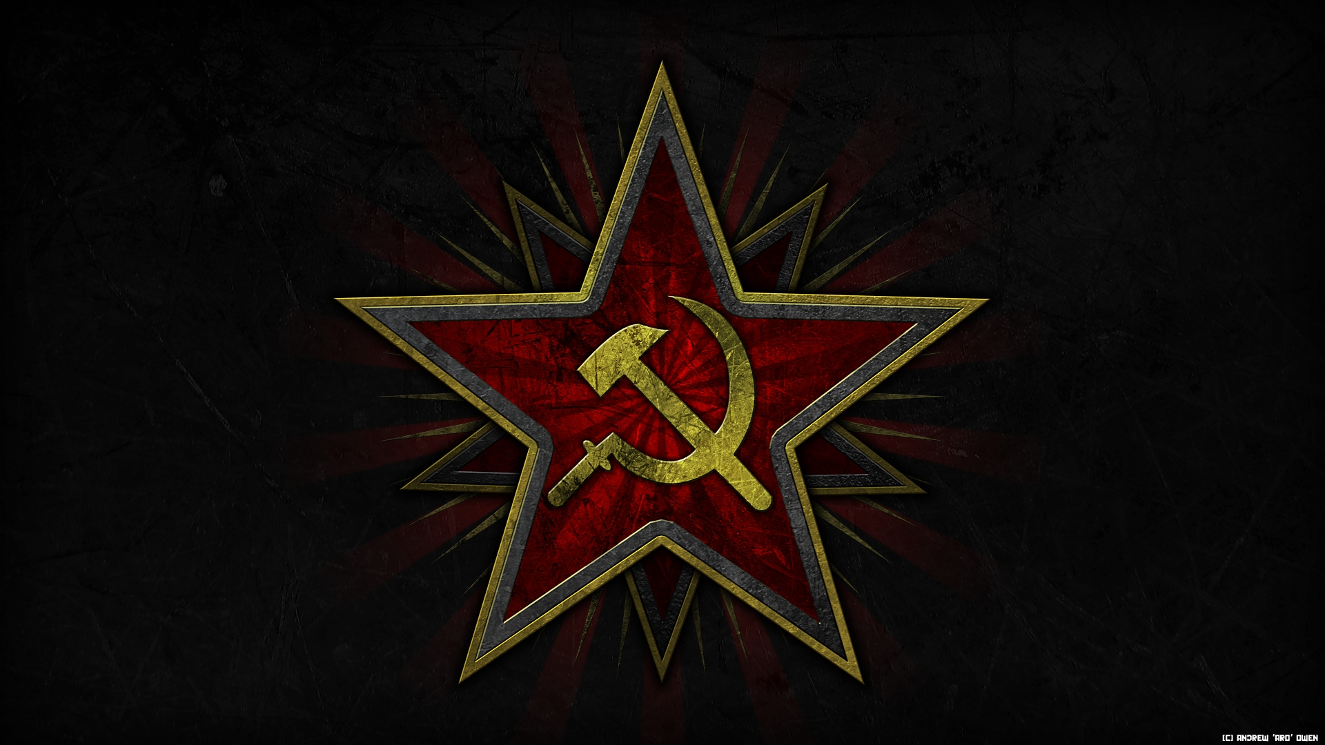soviet hammer and sickle wallpaper image - aro - mod db
