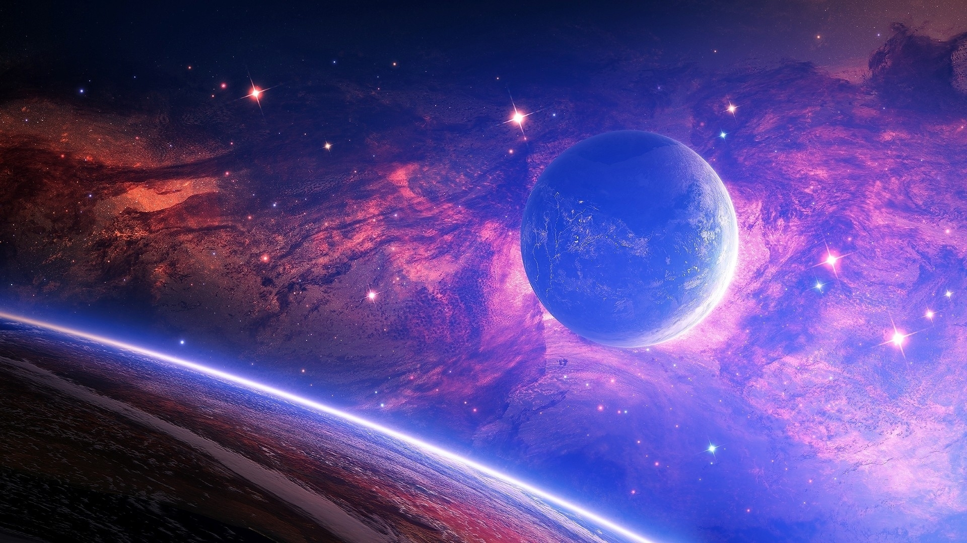 space hd wallpaper group with 47 items