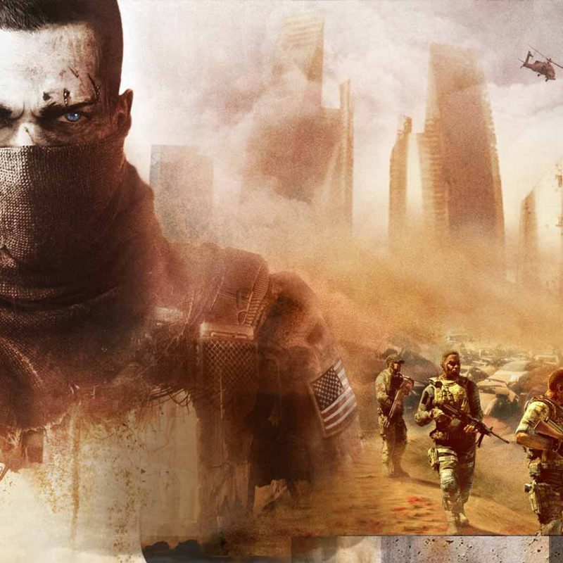 10 Most Popular Spec Ops The Line Wallpapers FULL HD 1080p For PC Background 2020 free download spec ops the line wallpaper full hd fond decran and arriere plan 800x800