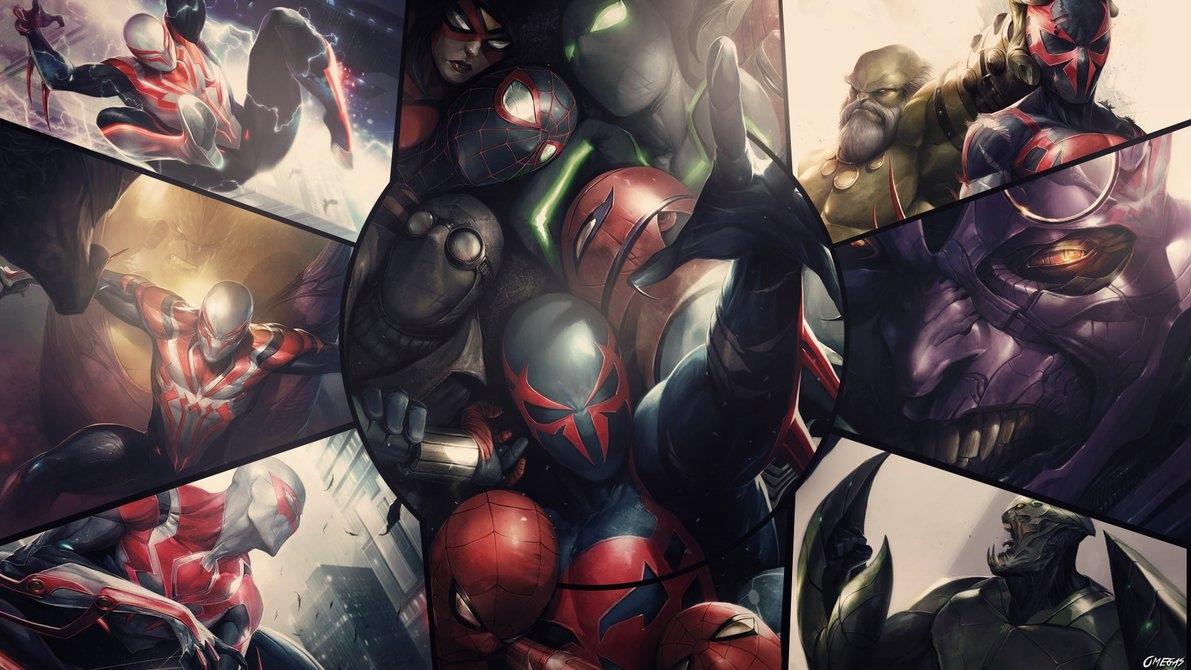 Spider Man 2099 Wallpaper On Wallpaperget Com: 10 Best Spider Man 2099 Wallpaper Hd FULL HD 1920×1080 For