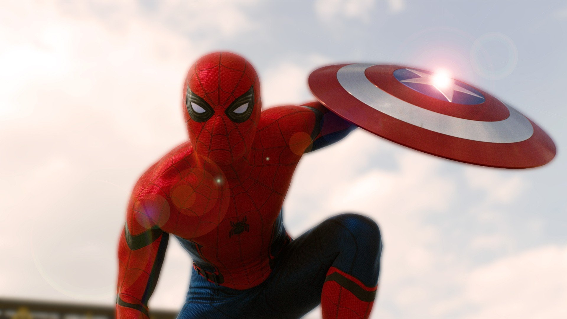 spider man in captain america civil war, hd movies, 4k wallpapers