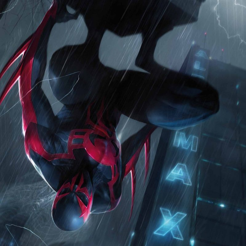 10 Best Spider Man 2099 Wallpaper FULL HD 1080p For PC Background 2021 free download spiderman 2099 fan art spider man 2099 11 cover by francesco 800x800