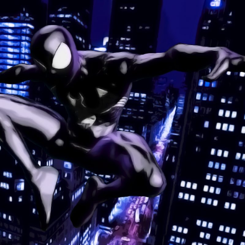 10 Top Black Suit Spiderman Wallpaper FULL HD 1920×1080 For PC Background 2018 free download spiderman black suitty13r on deviantart 800x800