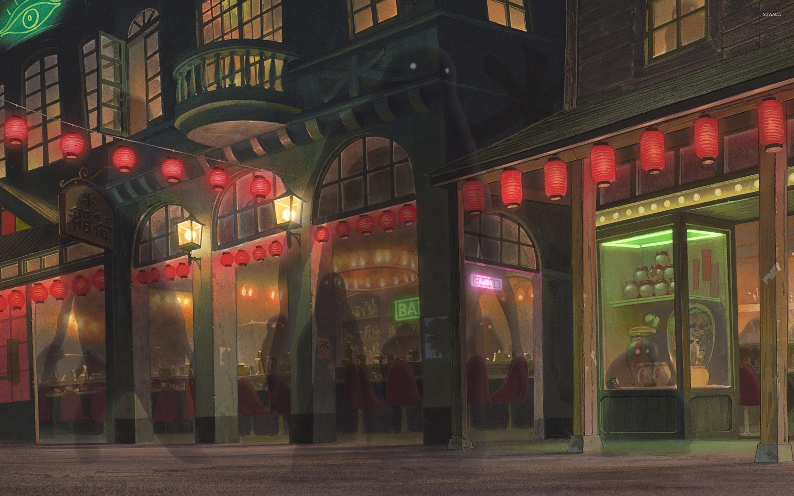 spirited away [2] wallpaper - anime wallpapers - #36876