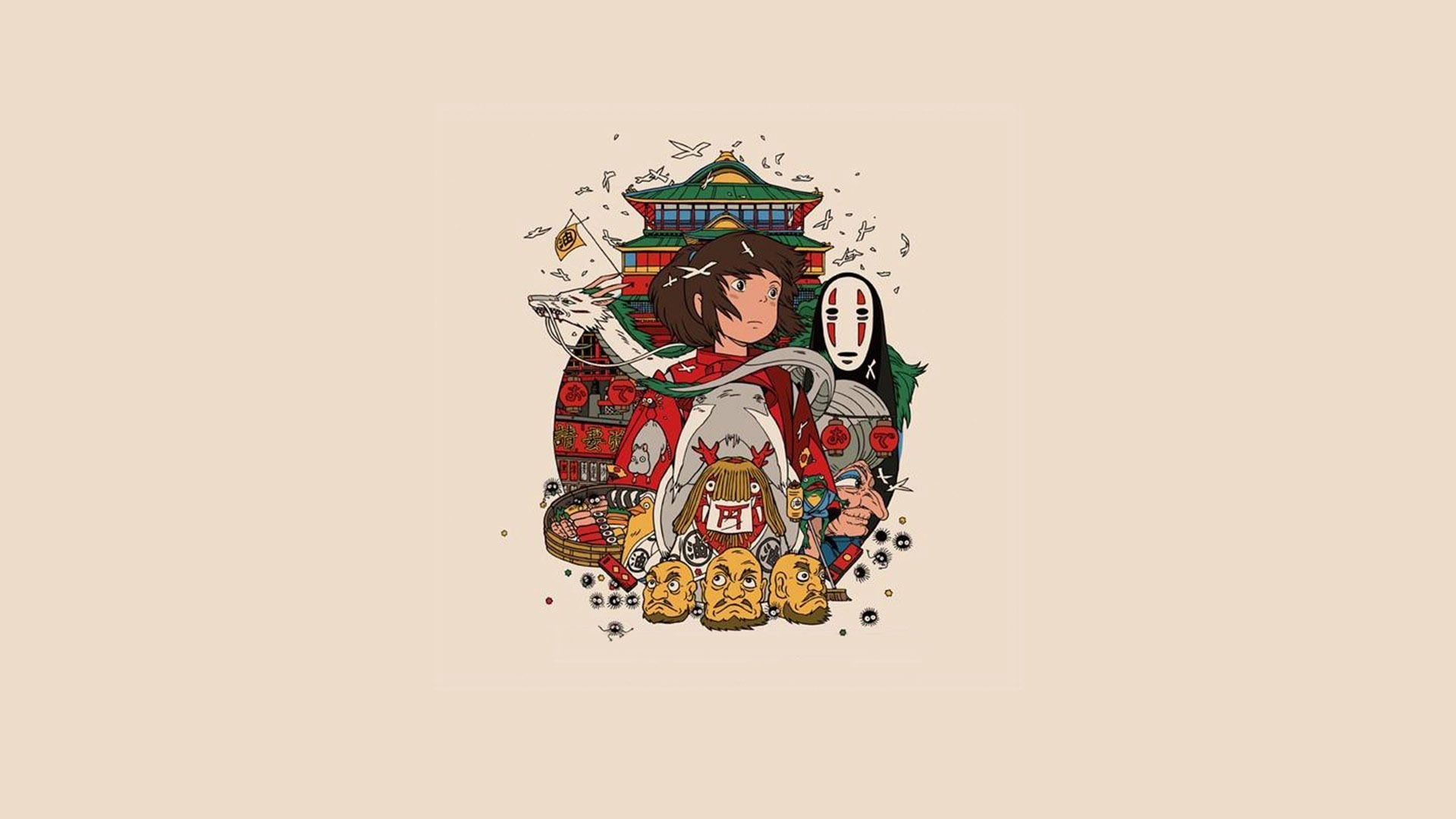 spirited away wallpaper - google search | anime | pinterest