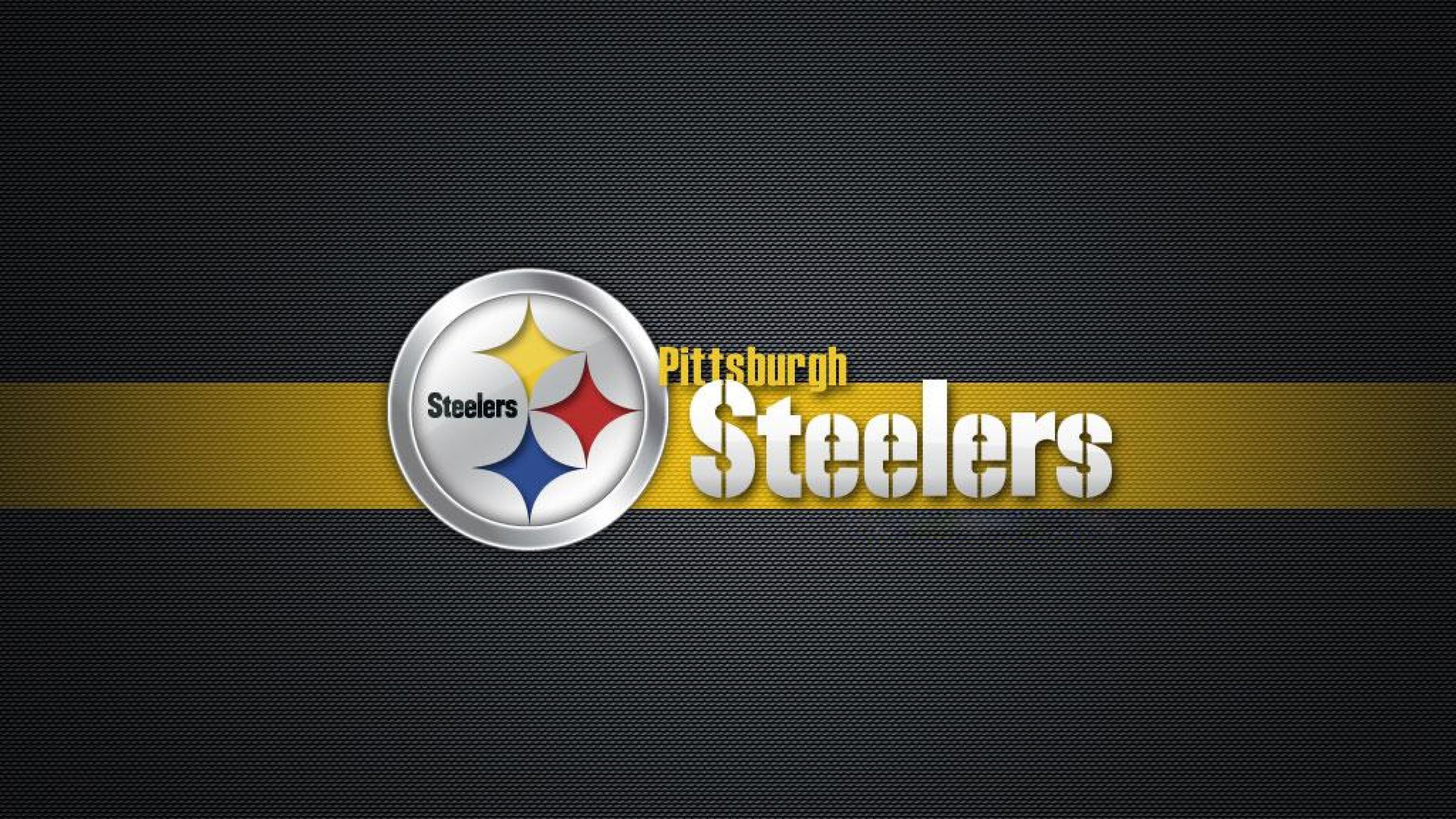 Title Sport Pittsburgh Steelers Logo Wallpaper Hd Wallpaperwiki Dimension 3840 X 2160 File Type JPG JPEG