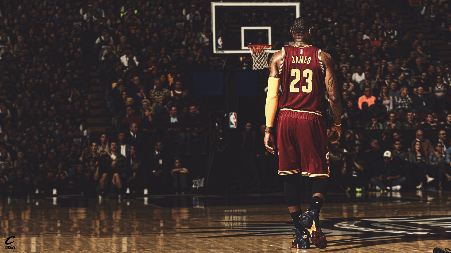 sports lebron james hd wallpapers (desktop, phone, tablet) - awesome