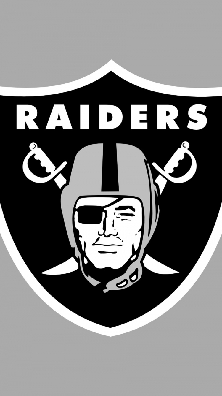 sports/oakland raiders (750x1334) wallpaper id: 593182 - mobile abyss