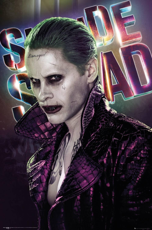 squad joker maxi poster