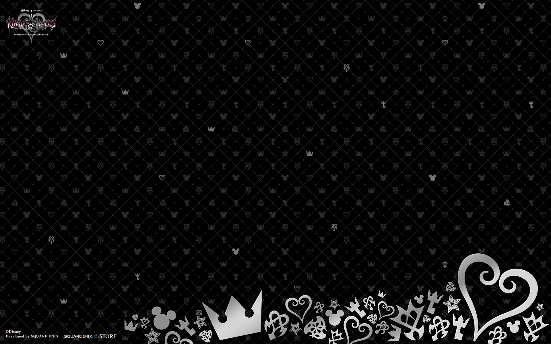 square enix releases kingdom hearts 2.8 pc wallpapers - news