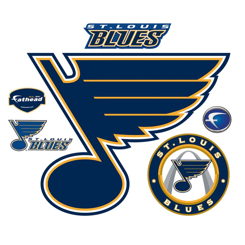 10 Most Popular St Louis Blues Logo Images FULL HD 1080p For PC Desktop 2018 free download st louis blues logo wall decal shop fathead for st louis blues 800x800