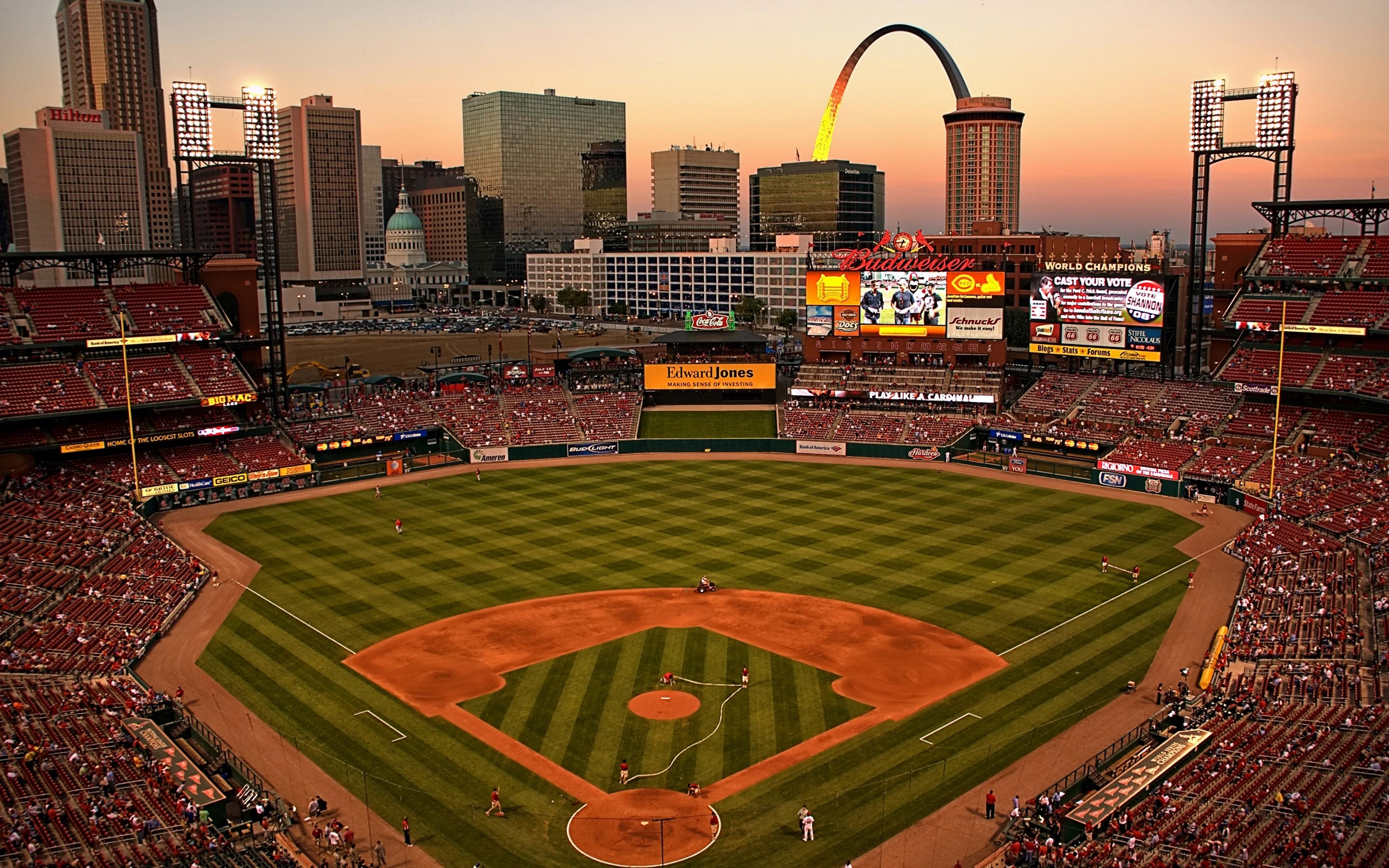 st. louis cardinals ballpark busch stadium iii st. louis, missou