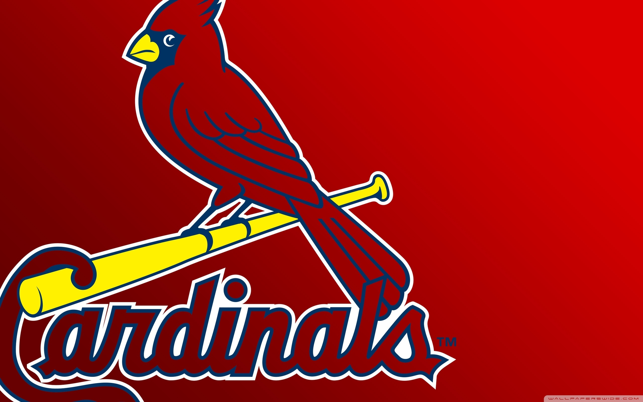 st louis cardinals logo ❤ 4k hd desktop wallpaper for