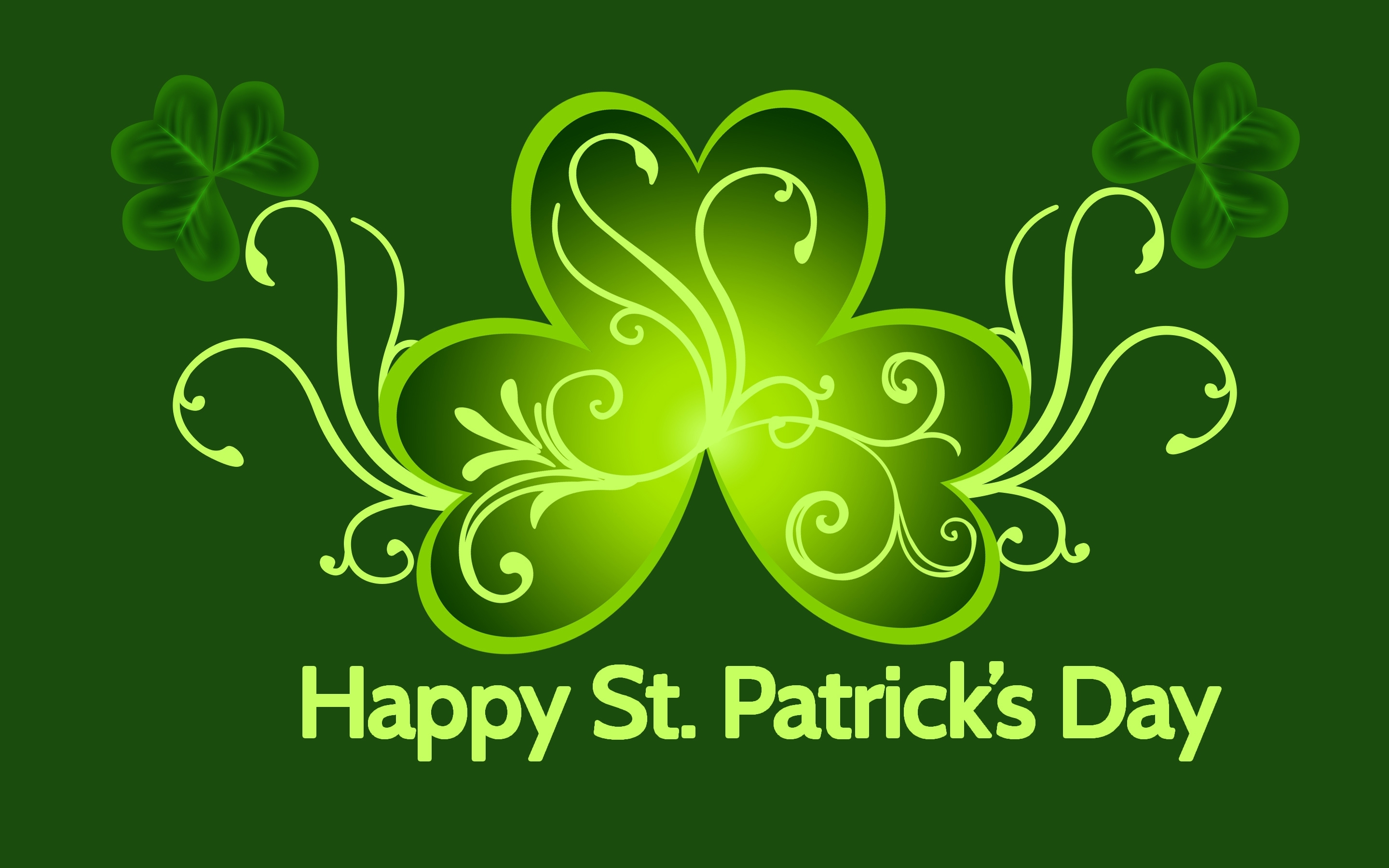 st. patrick's day full hd wallpaper and background image | 2880x1800