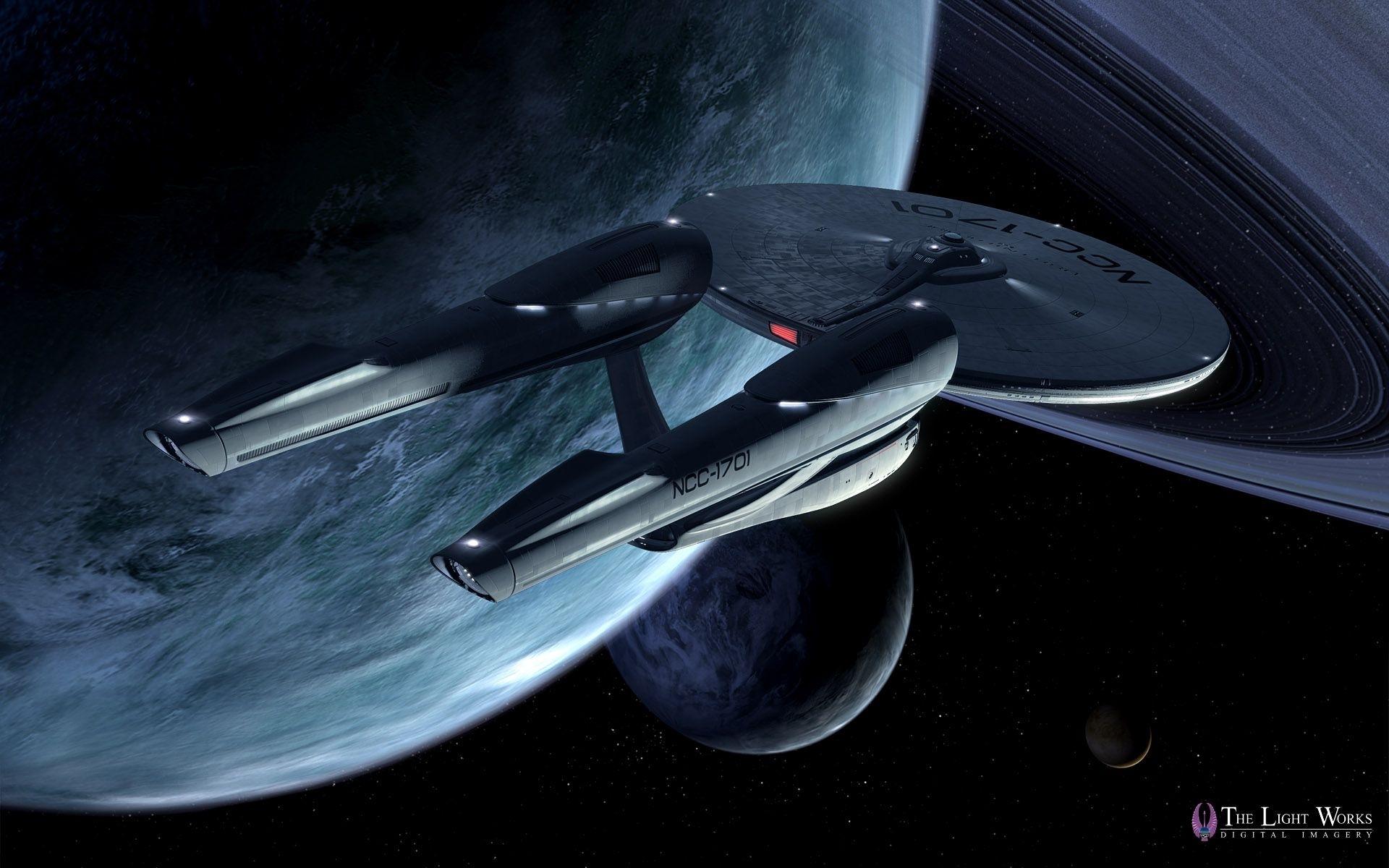 star trek 2009 ships | first look at tobias richter's star trek