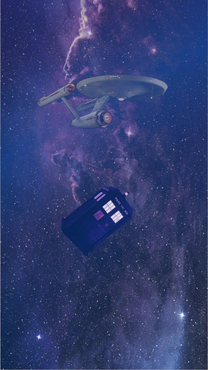 star trek and doctor who phone wallpaper - album on imgur